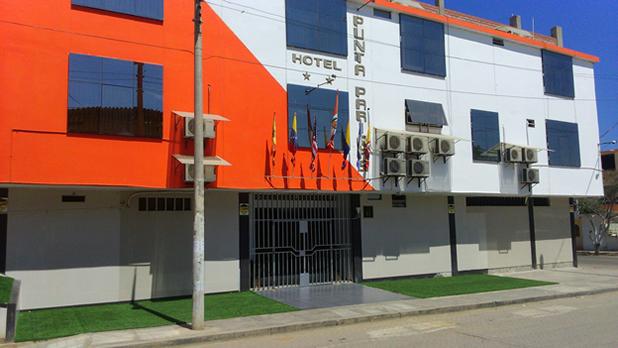 Frontis del Hotel.